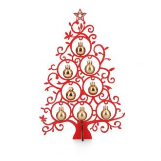 Tannenbaum 25 cm rot - Weihnachtsdeko Geschenkidee