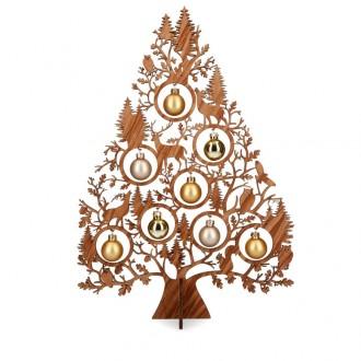 Tannenbaum 40 cm braun - Weihnachtsschmuck Geschenkidee