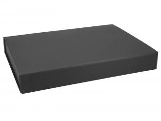 Magnetbox schwarz 31x22x4 cm als Produktverpackung oder Geschenkverpackung