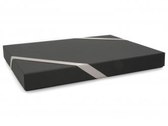 Premium-Geschenkbox - Geschenkverpackung Made in Germany (schwarz) 33,5x3,5x22,5 cm