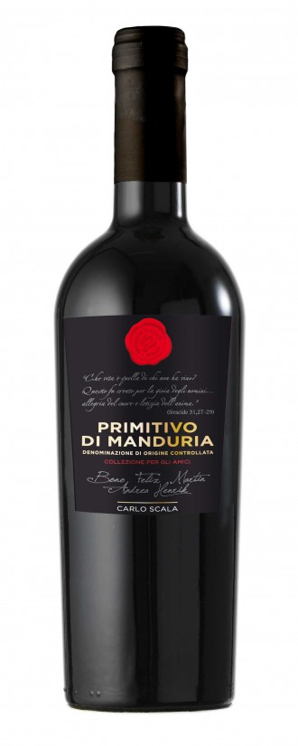 Primitivo di Manduria DOC Carlo Scala