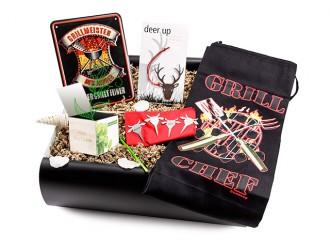 """Männergeschenk - Grillbox """"schöne Party"""" - Geschenkset zum grillen"""