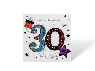 30´ Geburtstagskarte