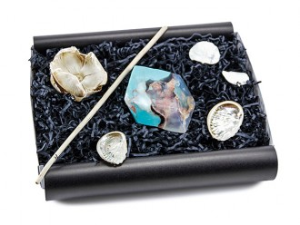 Geschenkidee Freundin SoapRocks Kristallseife Geschenkbox