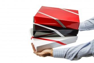 Individuelle Geschenkverpackung - Stülpdeckelkarton (XS, M, XL)