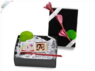 Happy Birthday kleines Geschenkset mit Deckeldesign - Geburtstagsgeschenk