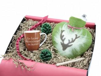 Geschenket mit Wärmflasche und Tasse Geschenkbox für Männer und Frauen