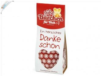 """Süßes für Dich - Gummibärchen """"Danke"""" (80g) – Kleine Geschenkidee"""