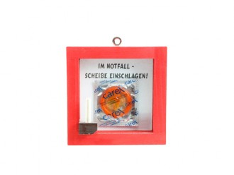 Notfall-Set ROT Kondom