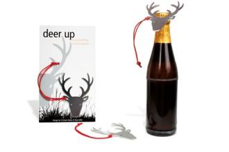 DEER UP Flaschenöffner Hirsch - Kreatives Geschenk oder Mitbringsel
