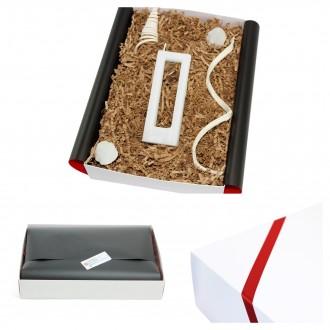 Geschenkbox mit Alusi Kerze - Geschenkidee für Männer