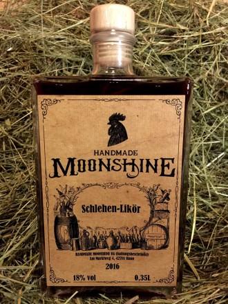 Handmade Moonshine Schlehen Likör
