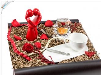 Romantisches Geschenkset Liebesbox zum Valentinstag
