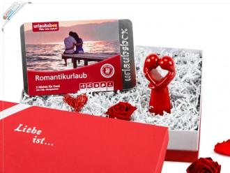 """Liebevolle Geschenke - Geschenkset """"Romantischer Kurzurlaub"""""""
