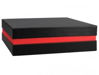 Premium Geschenkverpackung Schwarz Rot
