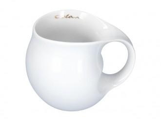 Luigi Colani Designer Kaffeetasse weiß - Design Geschenkidee für Männer