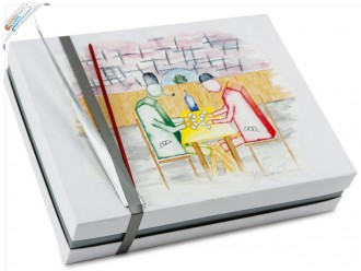 """Verpackungsdesign Deckeldesign Gemälde """"Spiel"""""""