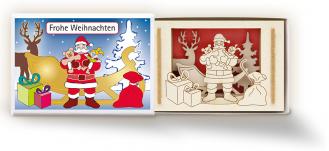"""""""Weihnachtsmann"""" Streichholzschachtel"""