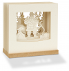 """""""Weihnachtsmann"""" Karte in 3D - Innovative Geschenkidee"""