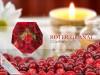 """SoapRocks """"Roter Granat"""" antibakterielle Naturseife für hochwertige Gesichts- und Körperpflege Duft: Cranberry"""