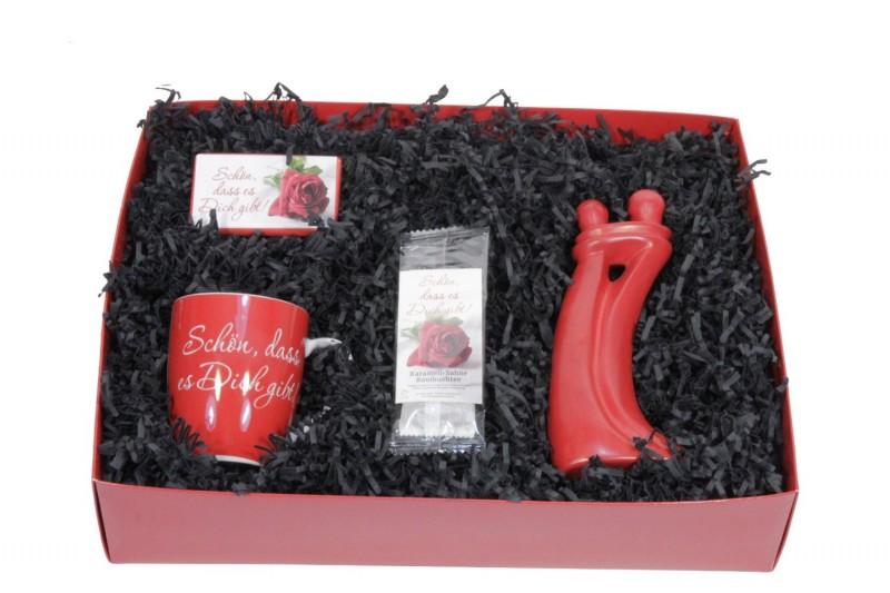 Geschenk für Verliebte - Geschenkbox -