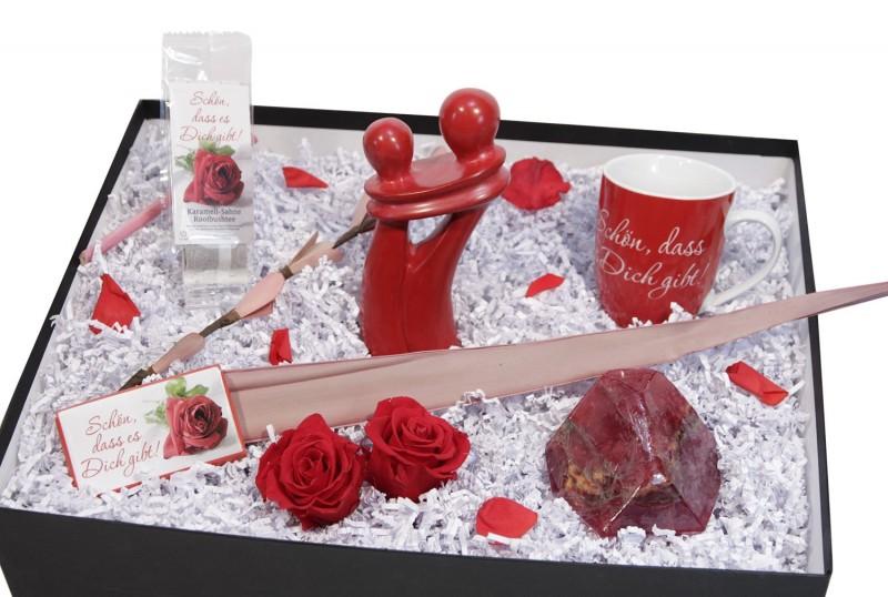 Geschenkbox für Verliebte - Wellness Set -