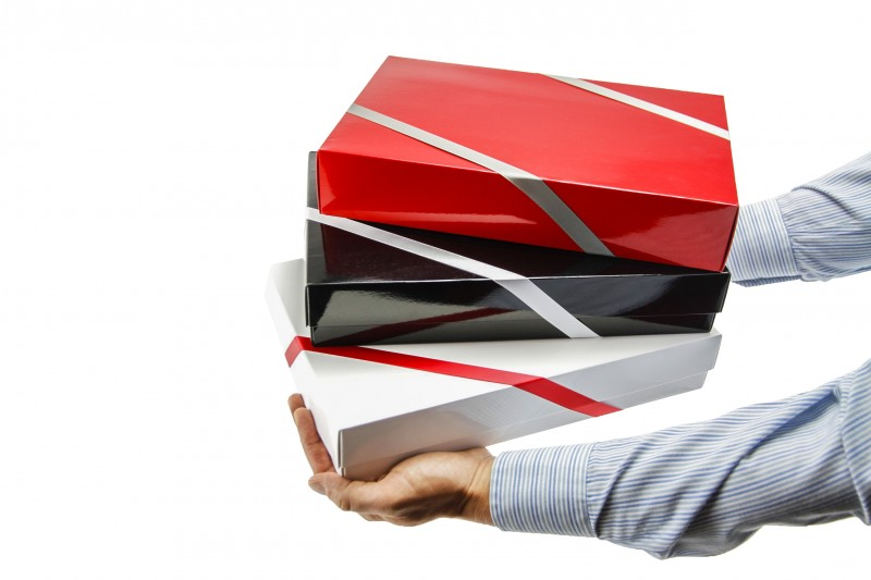 Individuelle Geschenkverpackung (XS, M, XL)