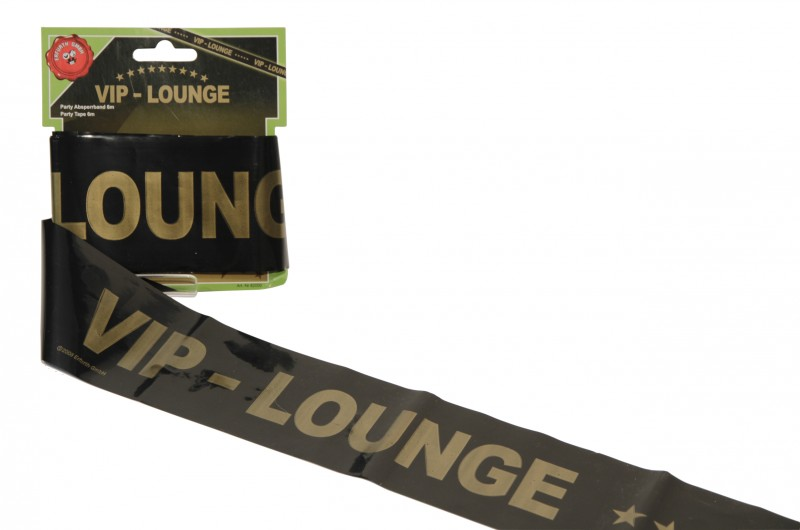 Party Tape VIP-Lounge, 6m auf Karte