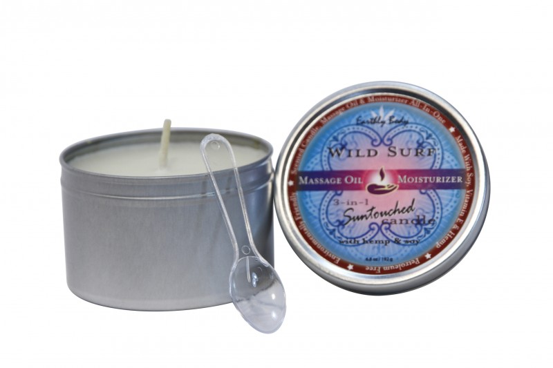 Duftkerze die in warmes Massage-Öl übergeht - Apfel/Brumig