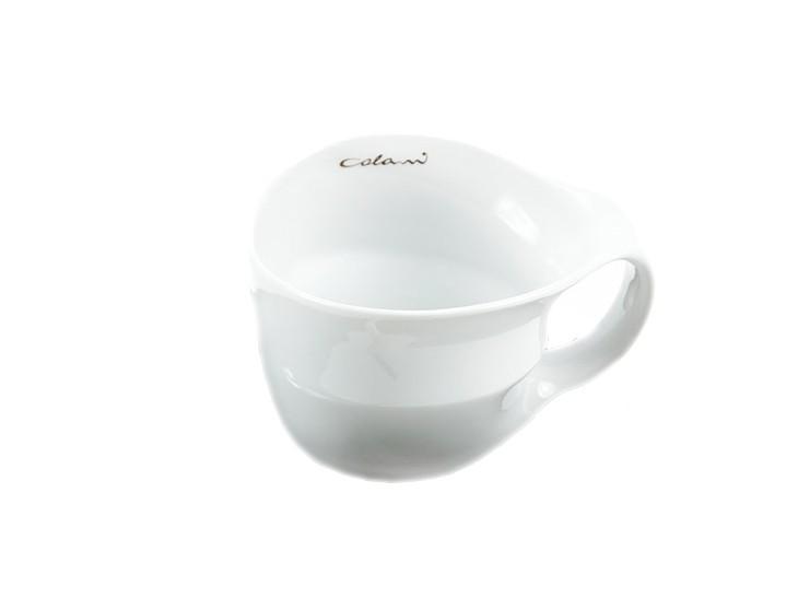 Luigi Colani Designer Jumbotasse weiß - Designgeschenk Kaffeeset