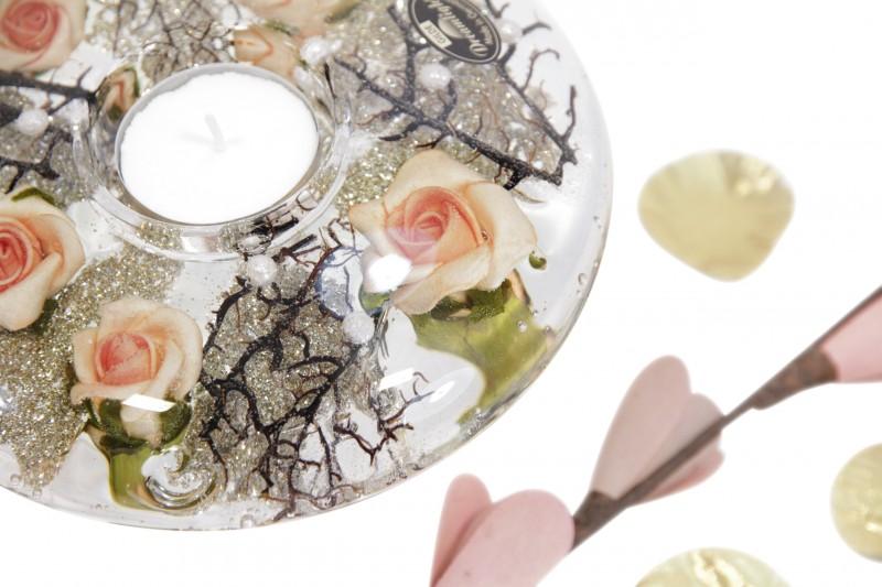 Ufo Teelicht Classic Rose of Elega
