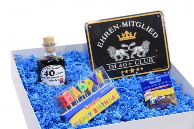 Geschenkbox zum Geburtstag