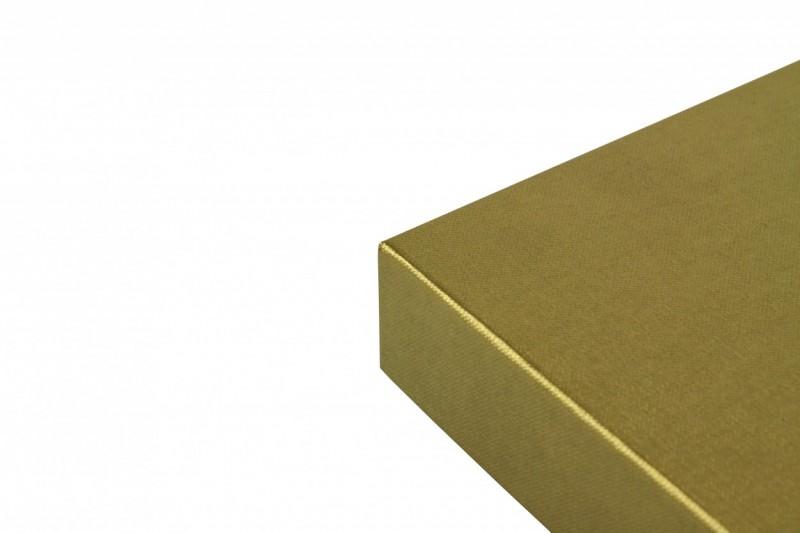 Premium-Geschenkbox - Geschenkverpackung Made in Germany (Grau, Weiß) 33x8x22 cm