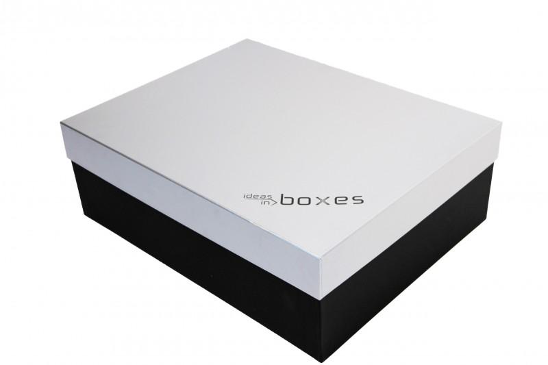 Premiumbox silber / schwarz