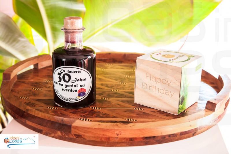Apotheker Weinflasche zum 30 Geburtstag
