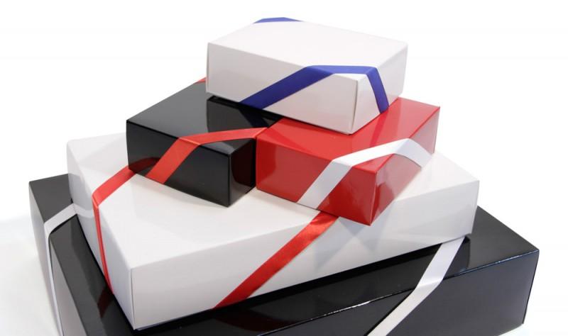 Geschenkverpackung+Deko