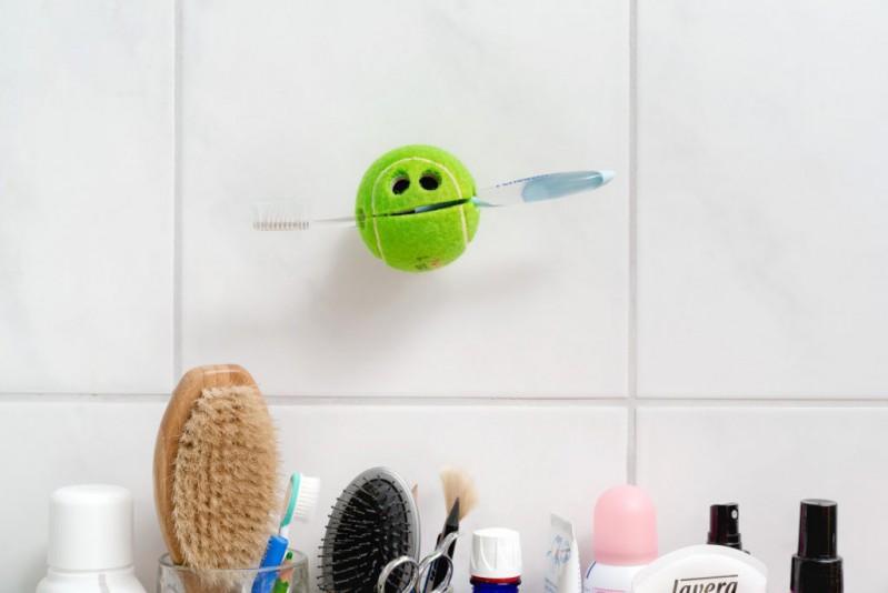 POC – Der Ball für alle Fälle Grün - universeller Halter (Tennisball) Originelle Geschenkidee