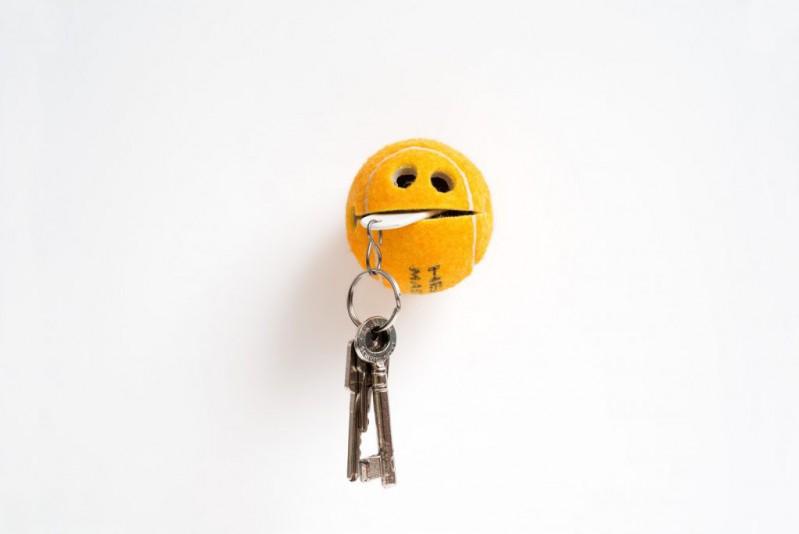 POC – Der Ball für alle Fälle Orange - universeller Halter (Tennisball) Originelle Geschenkidee