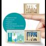 Streichholzschachtel mini München 3D - Geschenkidee Städtemotiv