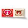 Streichholzschachtel mini 3D Motiv - Liebesgeschenk