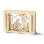 Weihnachtsgeschenk - 3D Motiv Krippe - Geschenk zu Weihnachten