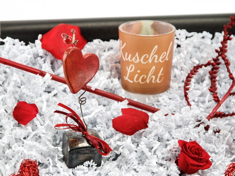 """Liebesbox  """"Kuschellicht"""" (Teelicht"""