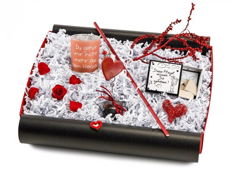 """Liebesbox  """"Du gehst mir nicht mehr aus dem Herzen"""" (Teelicht"""
