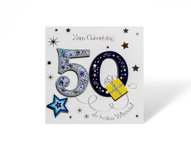 50´ Geburtstagskarte