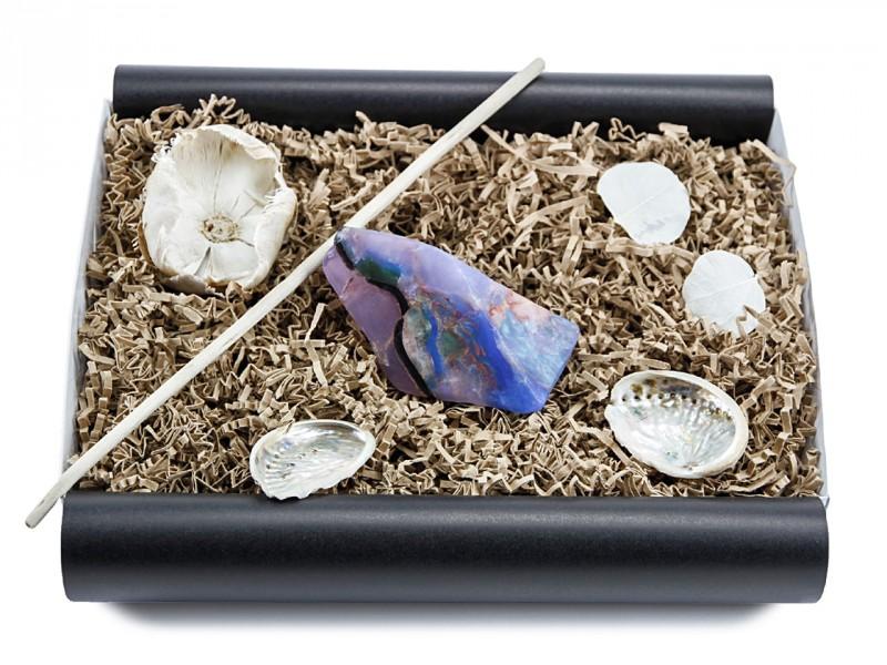 """Geschenkbox """"schwarzer Opal"""" (SoapRocks"""