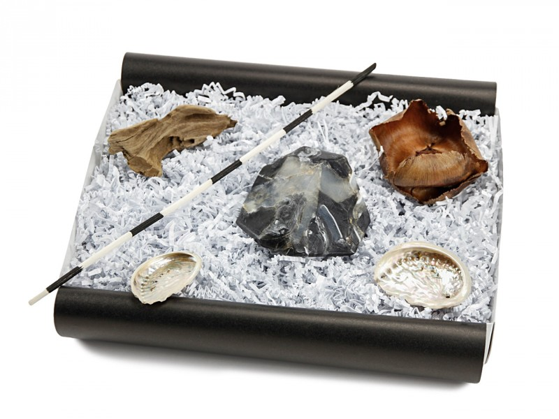 "Geschenkbox ""Schwarzer Onyx"" (SoapRocks"