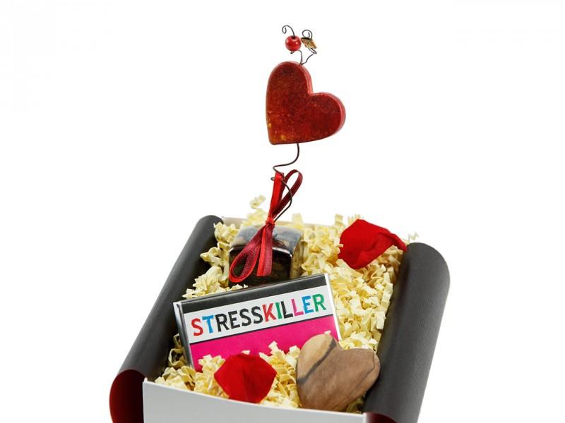 Geschenkbox mit Herz 228