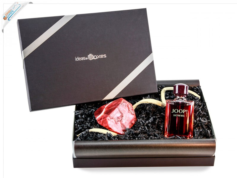 Joop! homme/man, Eau de Toilette Vaporisateur (1 x 125 ml) Geschenkset mit Premium Seife 175g