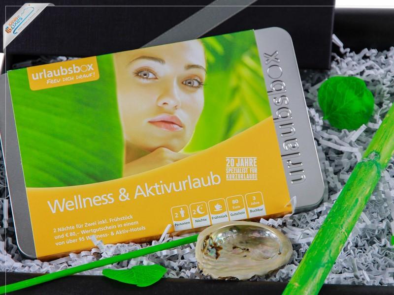 """Urlaubsbox - Kurzurlaub """"Wellness & Aktiv"""" für 2 Personen - Erlebnisbox"""