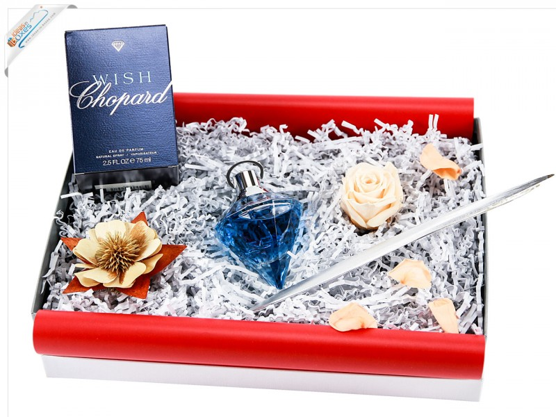 Chopard Wish, femme/woman, EDP Spray, Geschenk (1 x 75 ml) - Beautybox